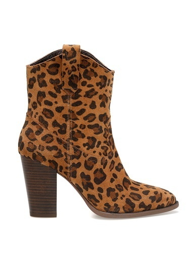 Nine West Bot Leopar
